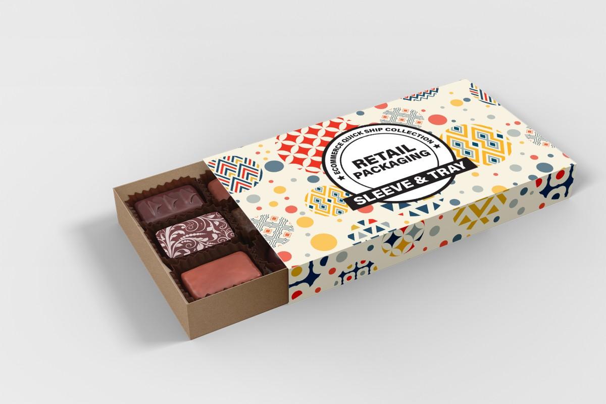 custom printed tray sleeve boxes