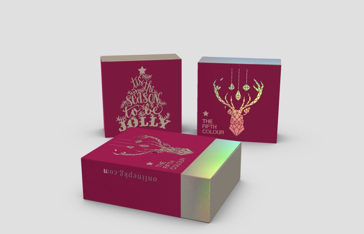 custom printed premium packaging boosts brand during christmas