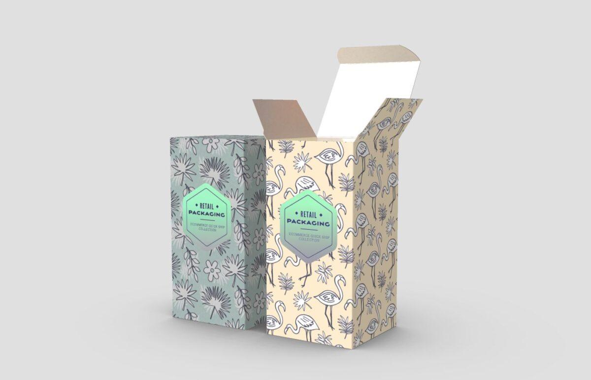 custom printed packaging cosmetics
