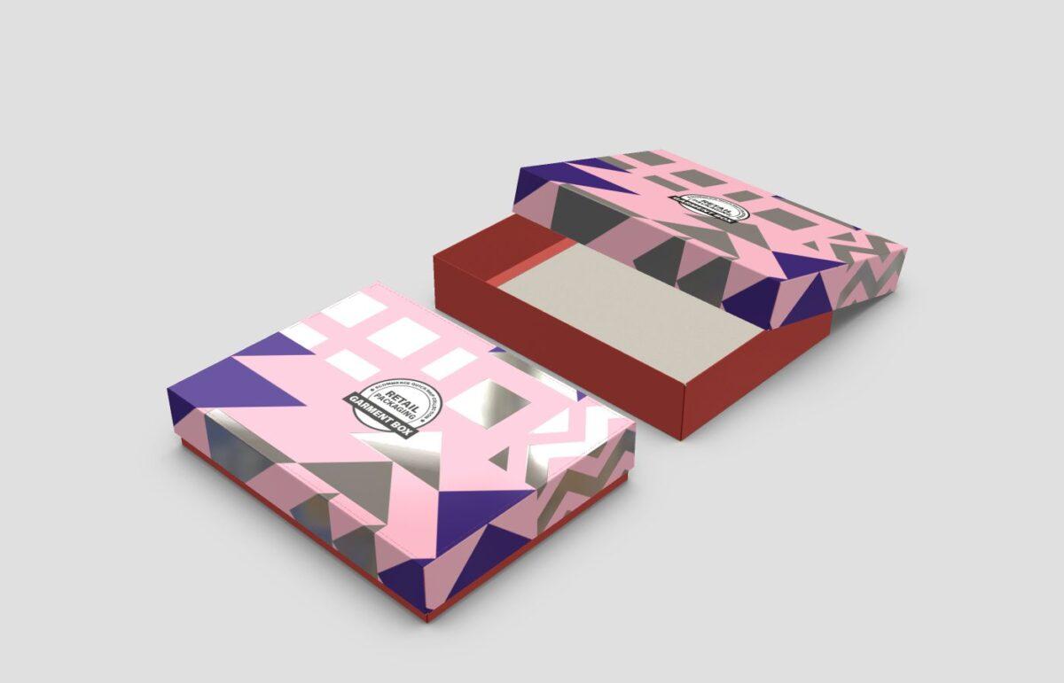 branded custom printed apparel packaging