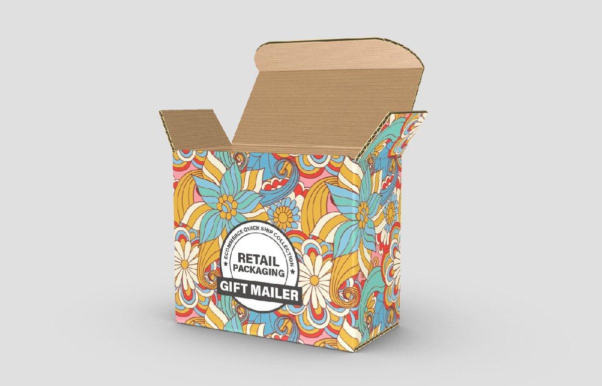 custom printed subscription mailer box