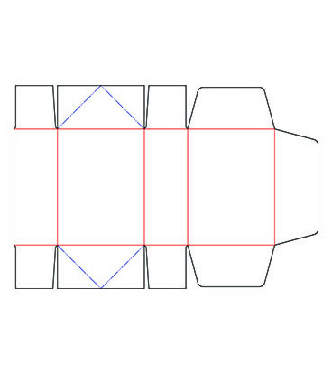 4 Corner with Lid Box
