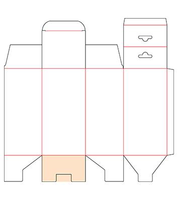 1-2-3 Bottom With Hanger Tab